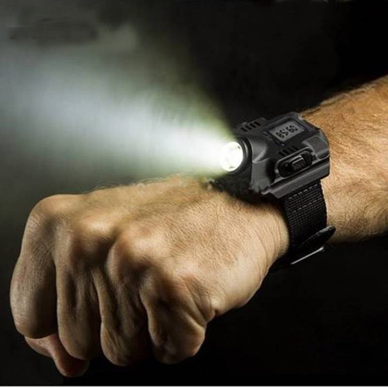 LED Torch Watch