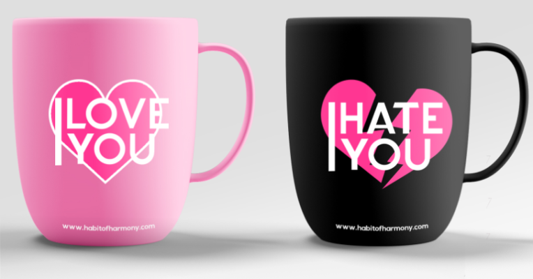 Love-Hate-Cups
